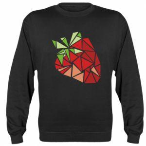 Bluza Strawberry red graphics