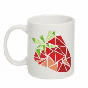 Kubek 330ml Strawberry red graphics