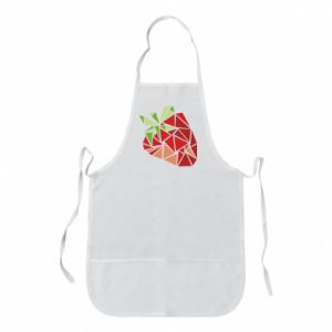 Fartuch Strawberry red graphics