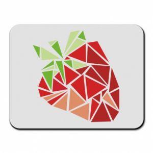 Podkładka pod mysz Strawberry red graphics