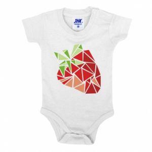 Body dziecięce Strawberry red graphics