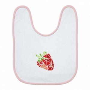 Śliniak Strawberry red graphics