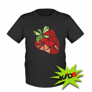 Kids T-shirt Strawberry red graphics