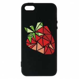 Etui na iPhone 5/5S/SE Strawberry red graphics