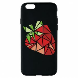 Etui na iPhone 6/6S Strawberry red graphics