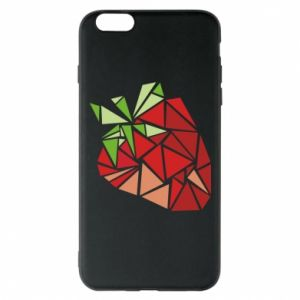 Etui na iPhone 6 Plus/6S Plus Strawberry red graphics