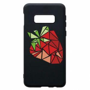 Etui na Samsung S10e Strawberry red graphics