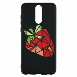 Etui na Huawei Mate 10 Lite Strawberry red graphics