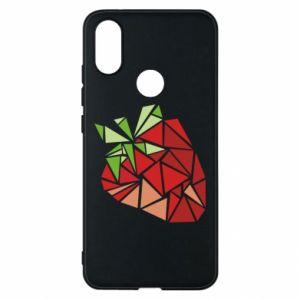 Etui na Xiaomi Mi A2 Strawberry red graphics