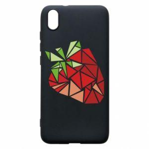 Etui na Xiaomi Redmi 7A Strawberry red graphics