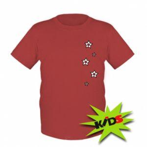 Kids T-shirt Falling stars