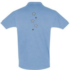 Men's Polo shirt Falling stars
