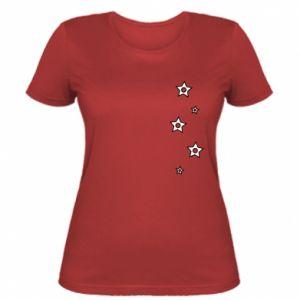 Women's t-shirt Falling stars