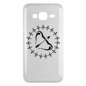 Phone case for Samsung J3 2016 Sagittarius