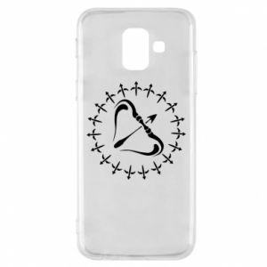Phone case for Samsung A6 2018 Sagittarius