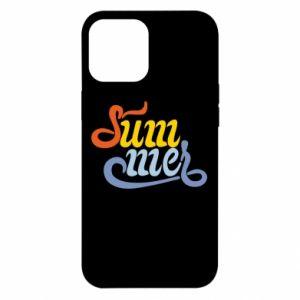 Etui na iPhone 12 Pro Max Sum-mer