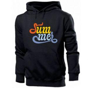 Men's hoodie Sum-mer