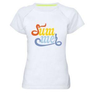 Koszulka sportowa damska Sum-mer