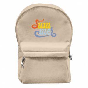 Plecak z przednią kieszenią Sum-mer