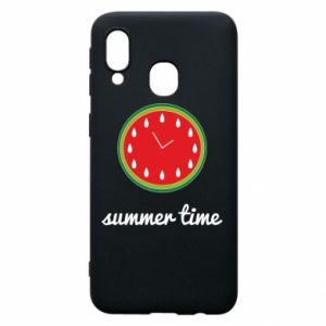 Samsung A40 Case Summer time