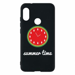 Mi A2 Lite Case Summer time