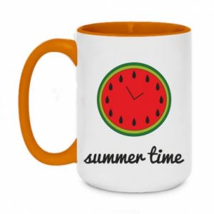 Two-toned mug 450ml Summer time