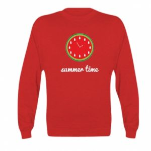 Kid's sweatshirt Summer time