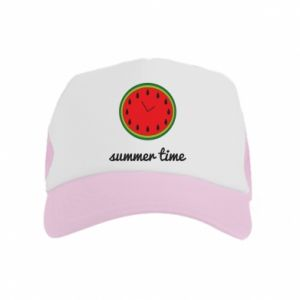 Kid's Trucker Hat Summer time