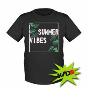 Kids T-shirt Summer vibes