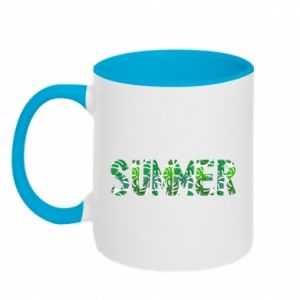 Two-toned mug Summer