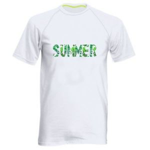 Men's sports t-shirt Summer