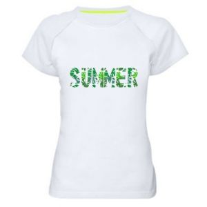 Women's sports t-shirt Summer