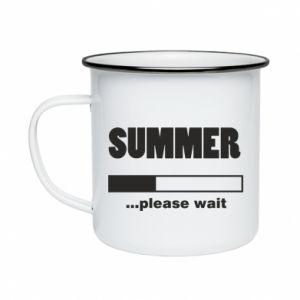 Kubek emaliowany Summer. Loading