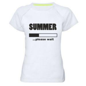 Koszulka sportowa damska Summer. Loading