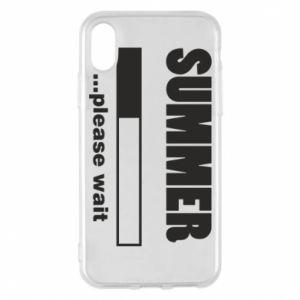 Etui na iPhone X/Xs Summer. Loading
