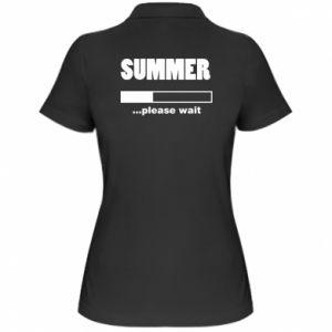 Koszulka polo damska Summer. Loading