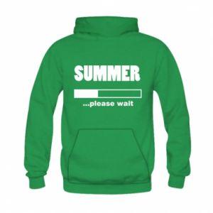 Bluza z kapturem dziecięca Summer. Loading