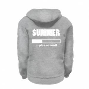 Bluza na zamek dziecięca Summer. Loading