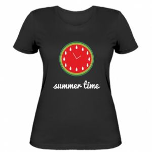 Women's t-shirt Summer time