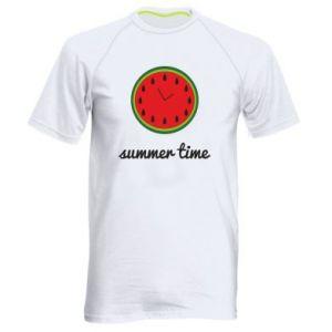 Men's sports t-shirt Summer time