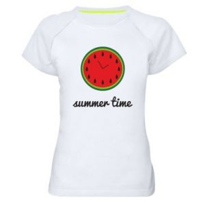 Women's sports t-shirt Summer time