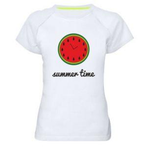 Women's sports t-shirt Summer time