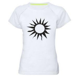 Koszulka sportowa damska Sun for the moon
