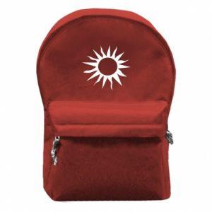Plecak z przednią kieszenią Sun for the moon