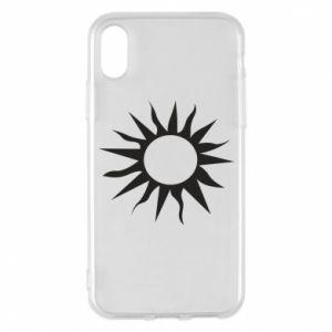 Etui na iPhone X/Xs Sun for the moon