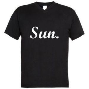 Męska koszulka V-neck Sunday
