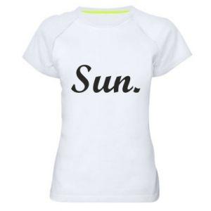 Damska koszulka sportowa Sunday