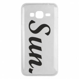 Etui na Samsung J3 2016 Sunday