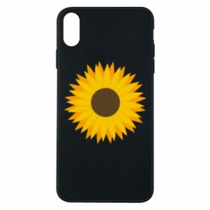 Etui na iPhone Xs Max Sunflower
