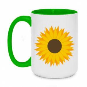 Kubek dwukolorowy 450ml Sunflower